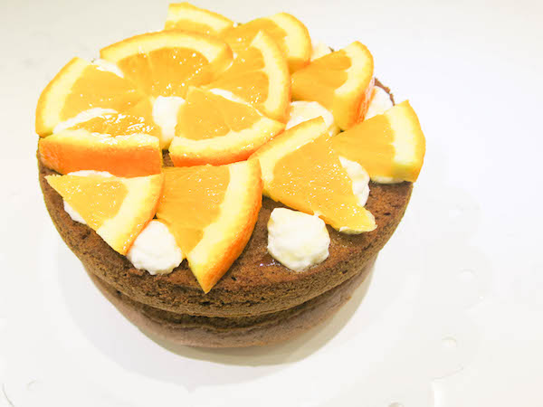Honey & Orange Cake