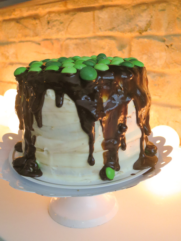 Ginger Lemon & Chocolate Cake