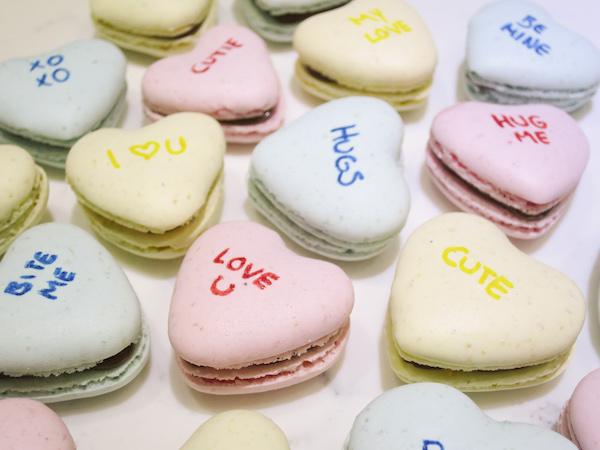 Sweetheart Macarons