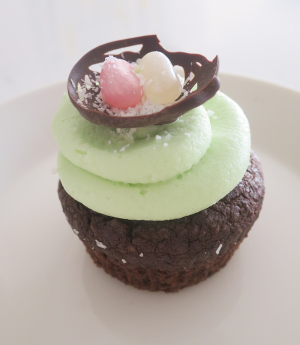 Chocolate Coconut Easter Cupcake