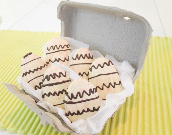 Easter Egg Macaron Cookies