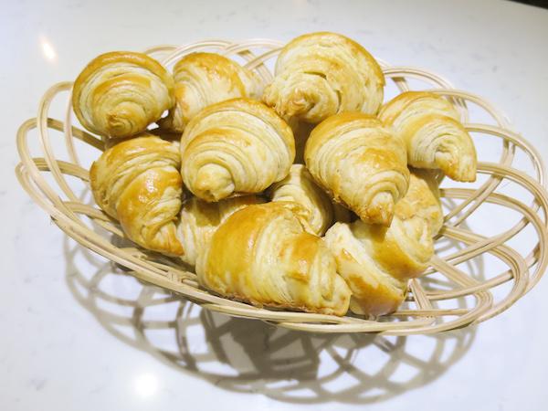 Sugar Free Butter Croissants