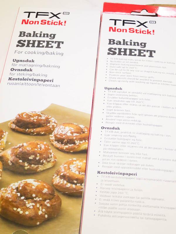 TFX baking sheet