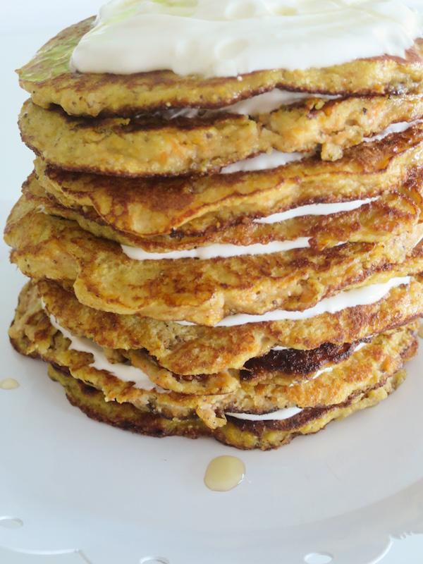 Gluten Free Carrot Pancake Cake