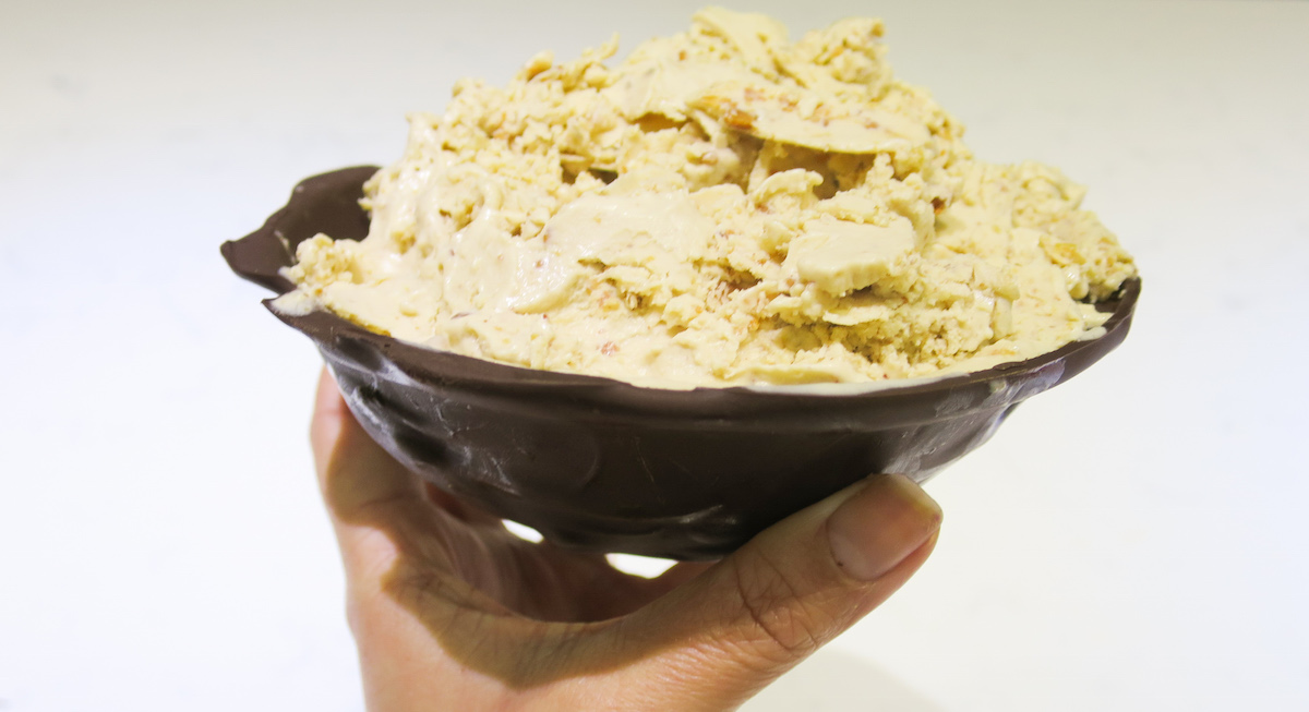 sugar free peanut butter & banana ice cream