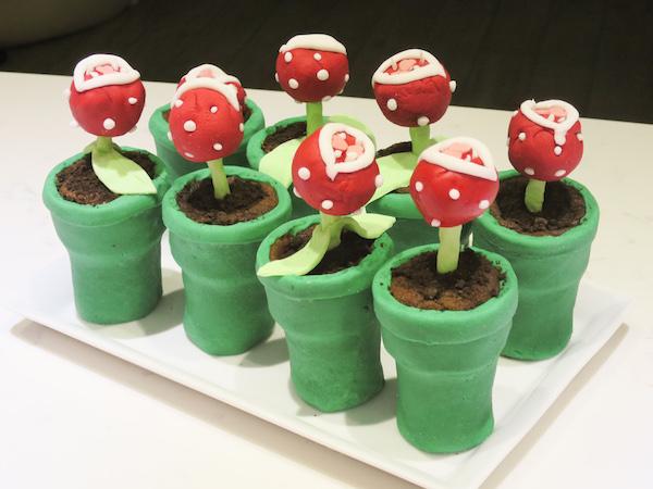 Chocolate Oreo Piranha Plants